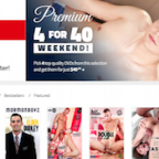 Nice pay website offering top notch gay material